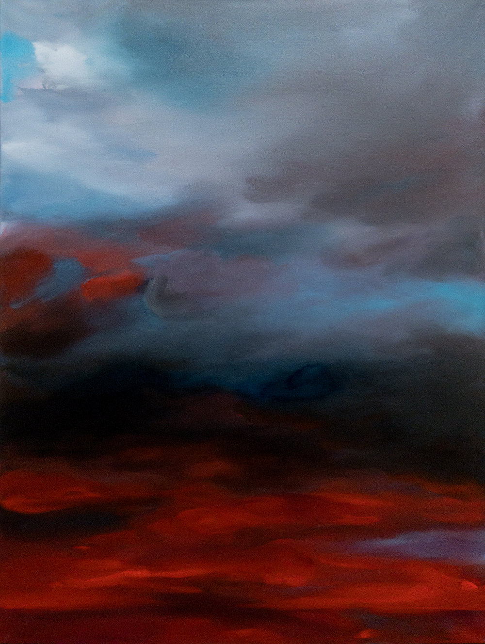 Morning, dark sky II