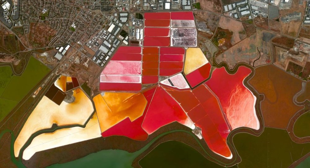Cargill salt ponds in SF