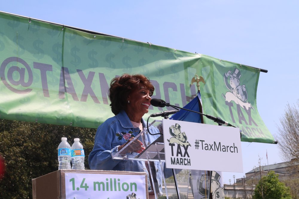 TAX MARCH ON WASHINGTON