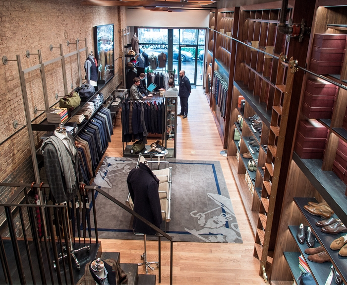 The Armoury in NYC (photo from  Permanent Style )