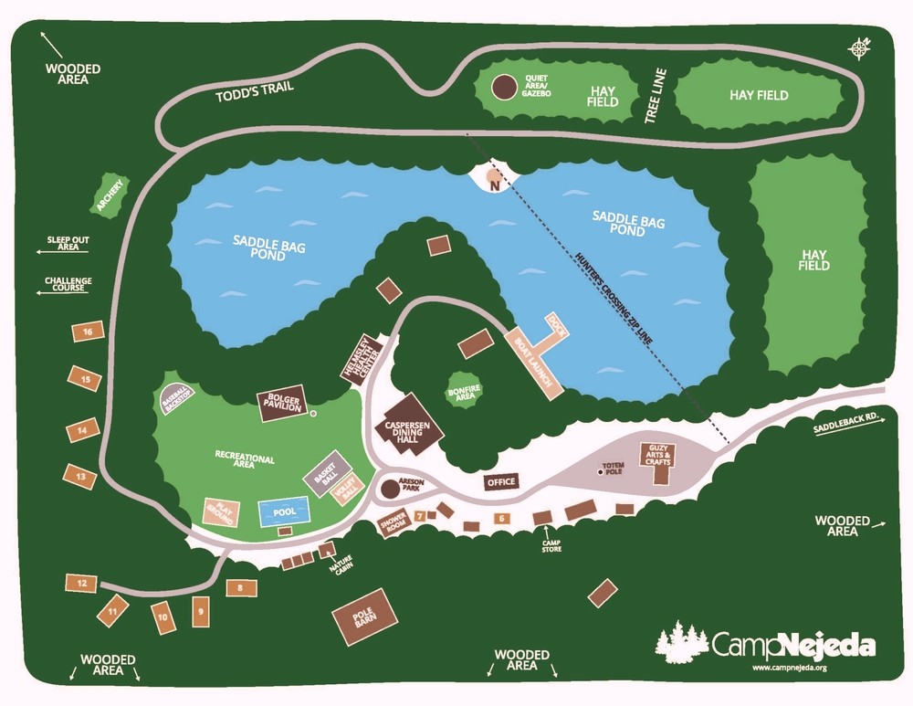 Map of Camp Nejeda. Click here to download and view the full map as a PDF
