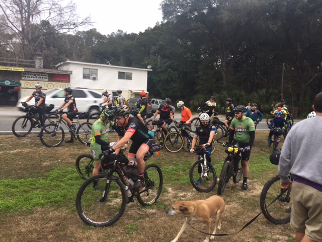 8am Grand Depart in Santos, FL