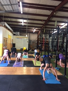 Yoga for athletes at Beer City CrossFit