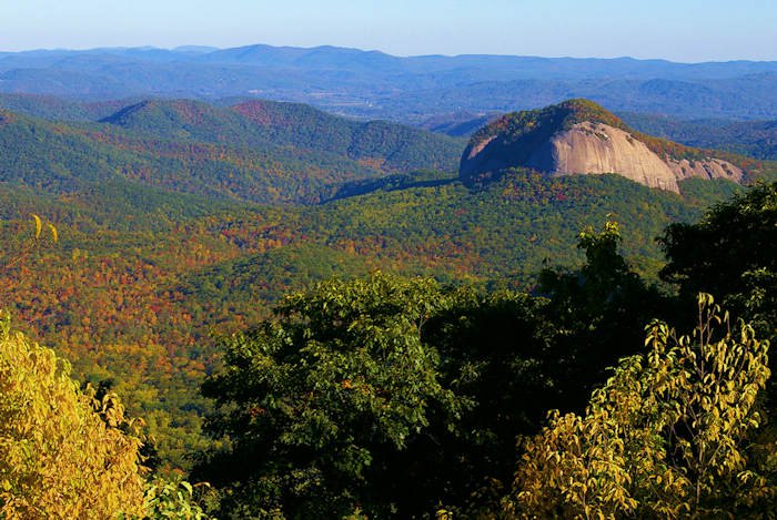 Looking Glass Rock, Pisgah National Forest
