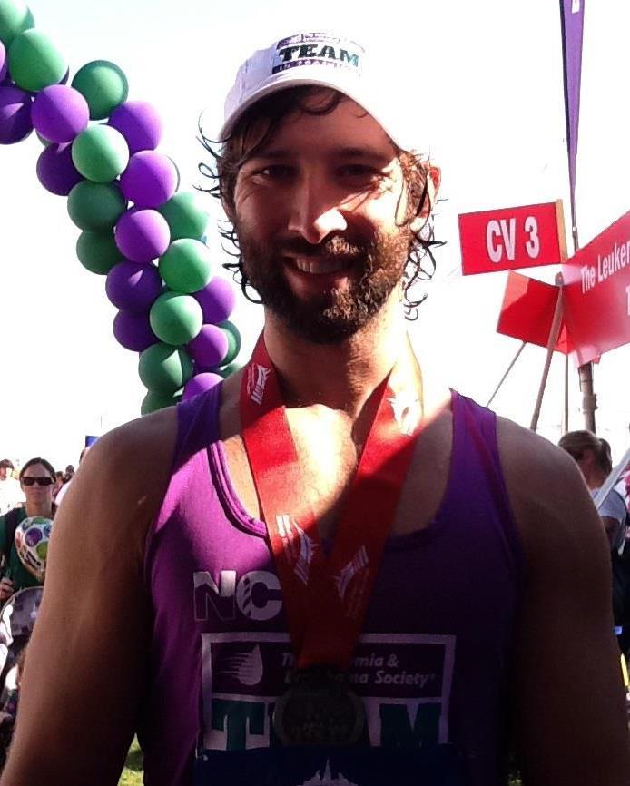 Finish line at Chicago Marathon.