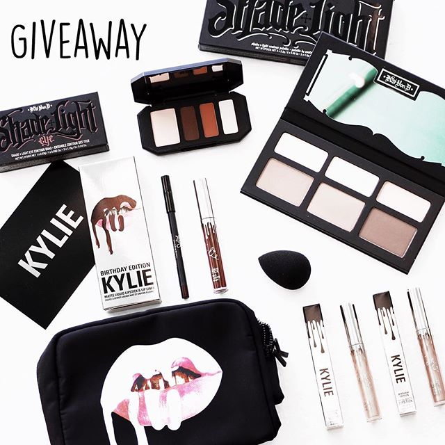 International Beauty Giveaway! 💋 HEAD TO 👉🏼 @prettyconnected I've partnered with 12 of my favourite bloggers to give one lucky follower $200 worth of beauty products, featuring the Kylie Cosmetics Birthday Edition lip kits and cosmetics bag, the Kat Von D contour palette and Kat Von D eyeshadow palette! To participate: 1. FOLLOW me @styleonedge_ 2. LIKE this pic 3. GO TO @prettyconnected and follow her. 4. Read her pic and repeat steps 1,2,3 following the chain until you get back to me! You MUST follow EVERYONE in the chain for your entry to count. 5. For a Bonus entry tag two REAL friends that you think will enjoy this giveaway. If you tag fictional people or celebrities you will be disqualified. 6. COMMENT on this pic indicating you have completed all steps! Good Luck!  Competition starts on 14/08 12pm EDT US time and ends on 19/08 12pm EDT US. Winner will be announced in a comment on this pic on all accounts on 20/08! Please be patient as we need to verify everyone who entered followed all steps correctly! 💋 *This contest is in no way sponsored, administered, or associated with Instagram, Inc or any of the brands featured. By entering, entrants confirm that they are 13+ years of age, release Instagram of responsibility, and agree to Instagram's terms of use