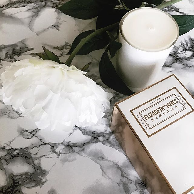 Loving the new candle that @elizandjames sent me from the Nirvana collection sold at @sephora 💕 the perfect addition to any home (btw it smells amazing 😍)! #mynirvana