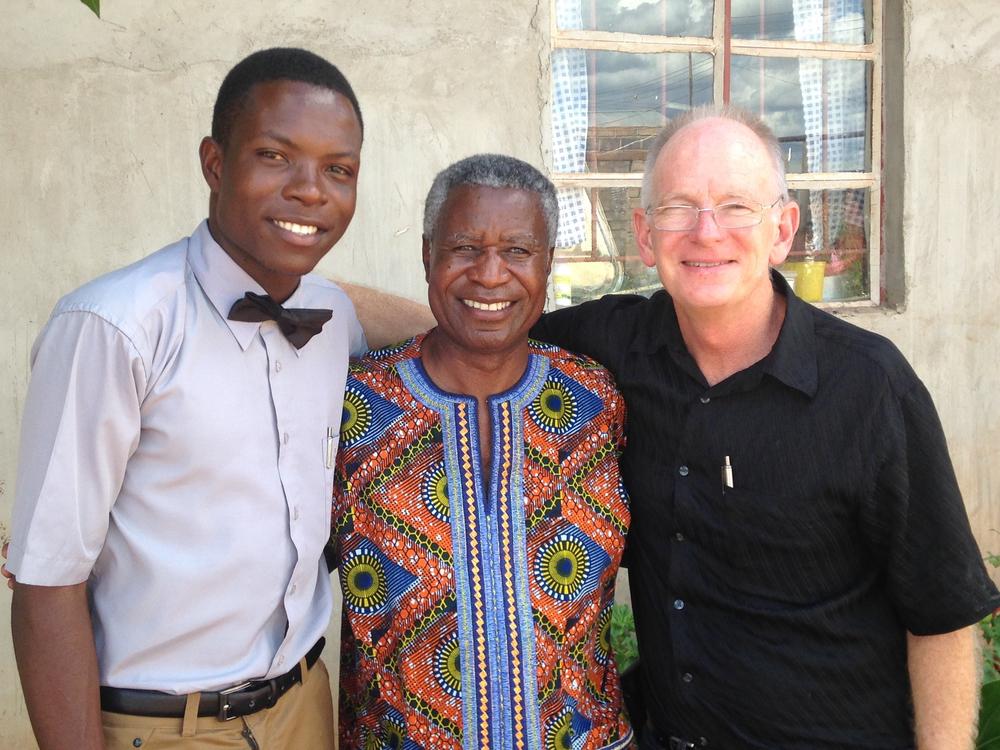 Joshua Mwambela, Francis Feruka, and Rory Randall