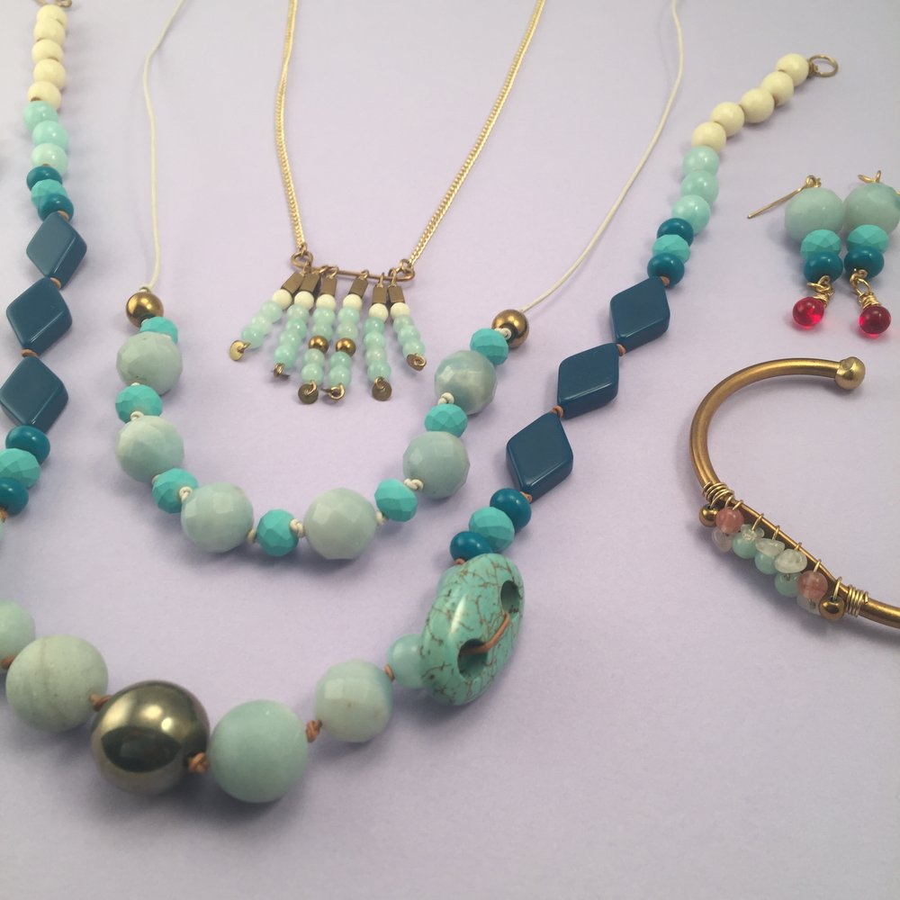 Turquoise & Coral - shop the collection
