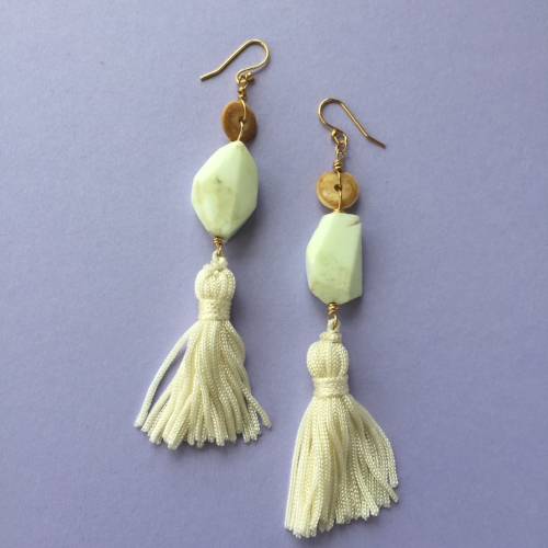 Shanelle's earrings which you can purchase.