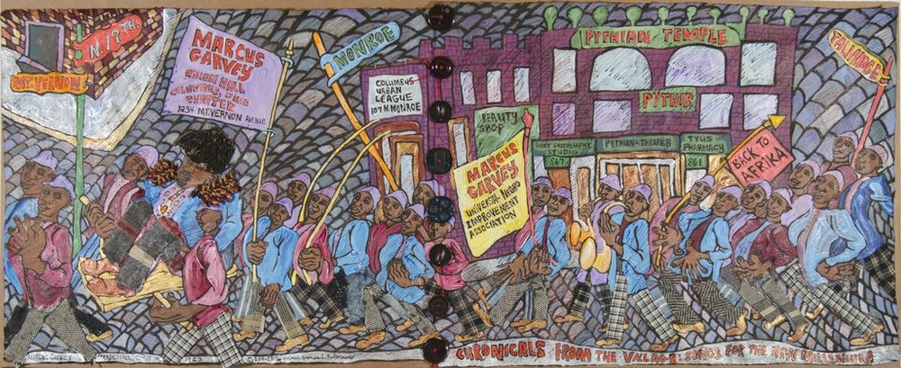 Chronicles from the Village Series: Marcus Garvey Parade, 2010-2012