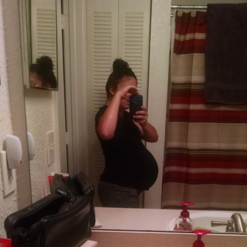 Two days before my due date!