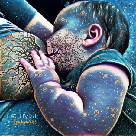 My own #TreeOfLife pic, breastfeeding my toddler when he was 2 months old