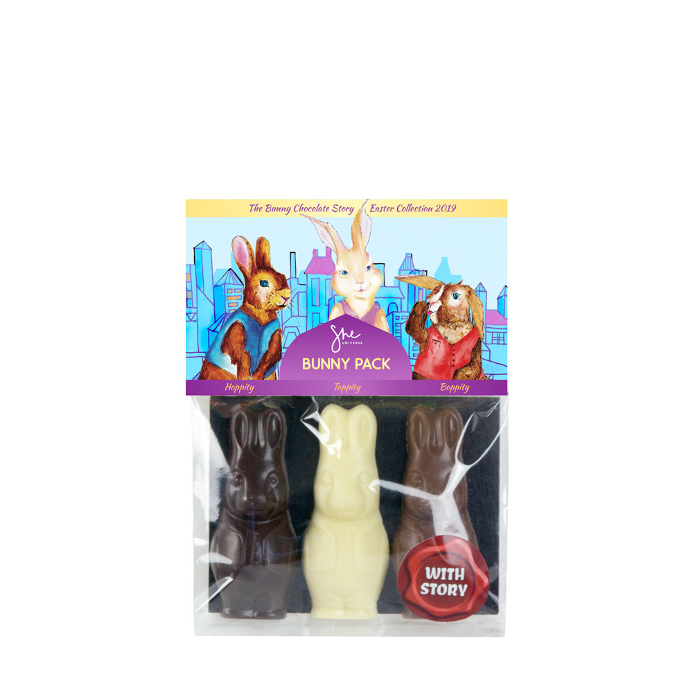 Bunny Pack - This year our three bunny's adventures take them to the city.
