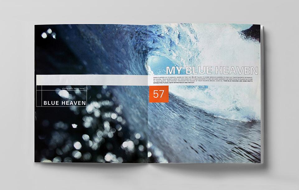 blue magazine