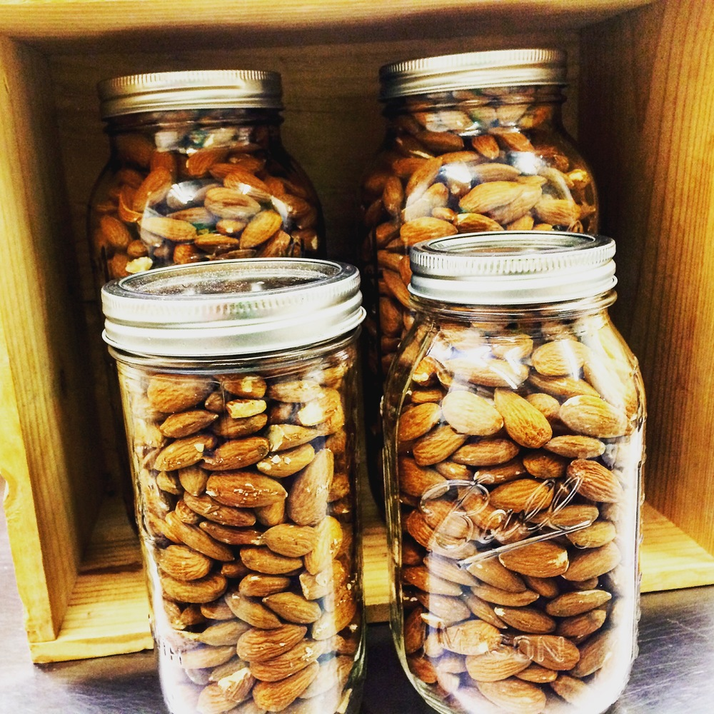 nuts on nuts on nuts! nut milks are supposed to contain lots of nuts! not lots of fillers in an attempt to convince you there are lots of nuts! think before your drink :)