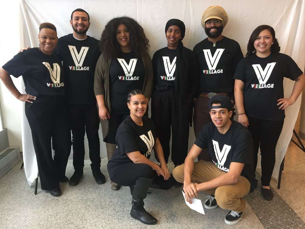 Westminster and University of Utah Black Collegians volunteering at The V(i)llage Medicine U College Immersion Tour (2016).