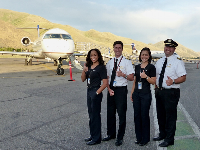 Airport Amp Maps Fly Sun Valley Alliance