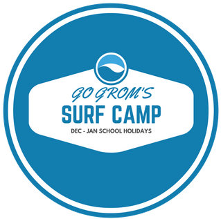 GO GROM'S SURF CAMP  12.5 hours of surf & games  Only $250   BOOK NOW »