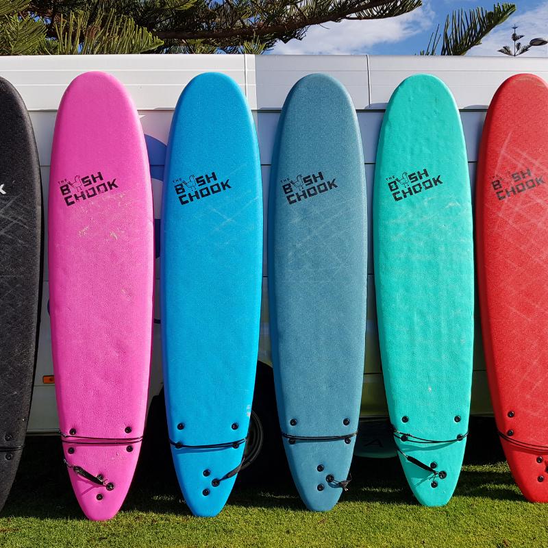 8 foot Softboard Rental Perth
