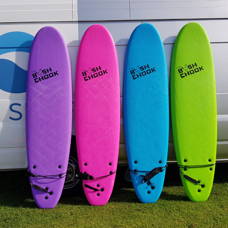 7 foot Purf Surfboard Hire
