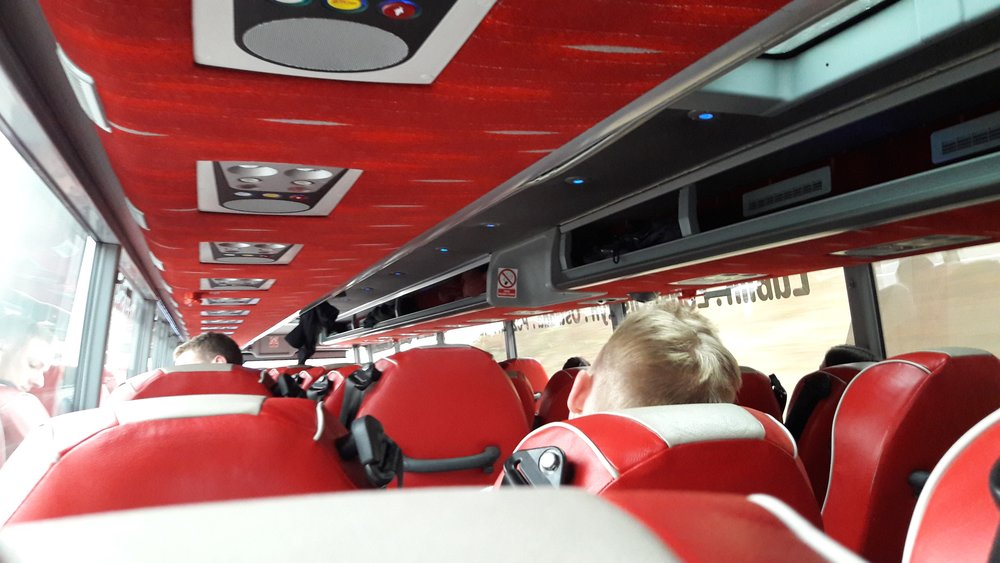 The Polski Bus from Prague