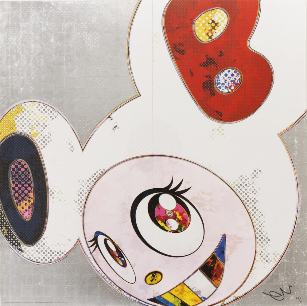 takashi-murakami-dob-in-pure-white-robe-pink-blue-silver-2013-lithograph-2.jpg