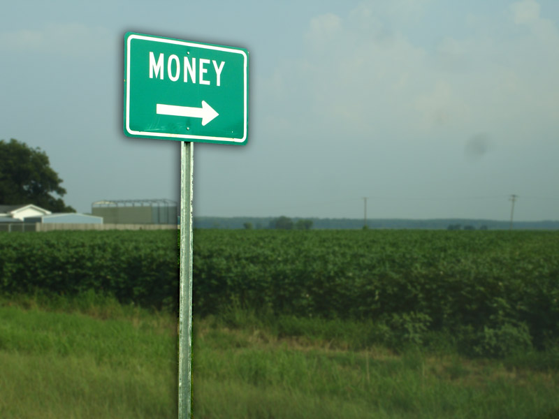 money - davebarger on flickr