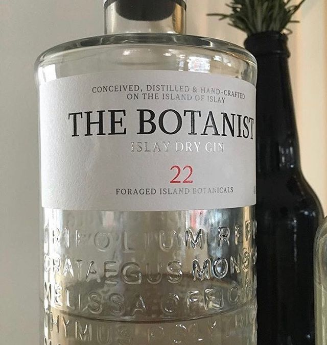 Available @inverleighcellarkitchen #thebotanistgin. Created at the Bruichladdich distillery, Scotland. This superb Islay gin is the perfect Sunday afternoon beverage