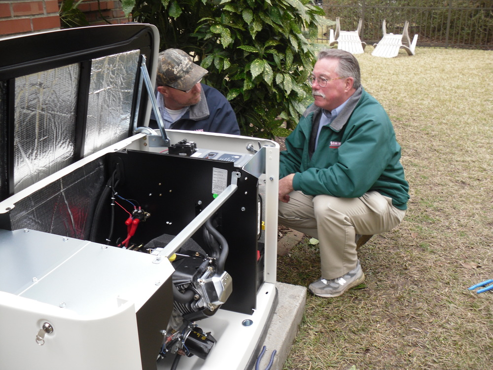 Simmons Generator Installation