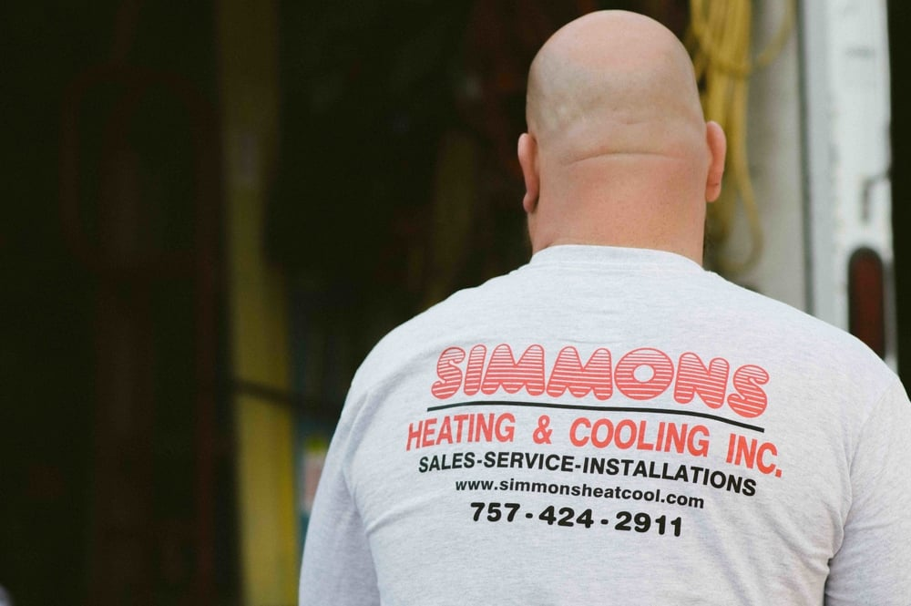 Simmons heating and cooling. sales service installation