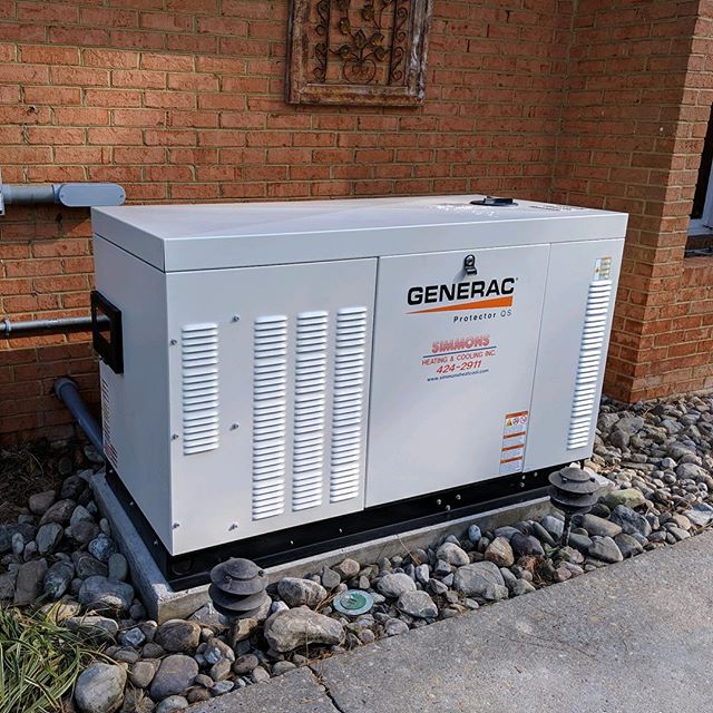 Liquid cooled generator by Jason and Scott #generators #generac #lovewhatyoudo #virginiabeach