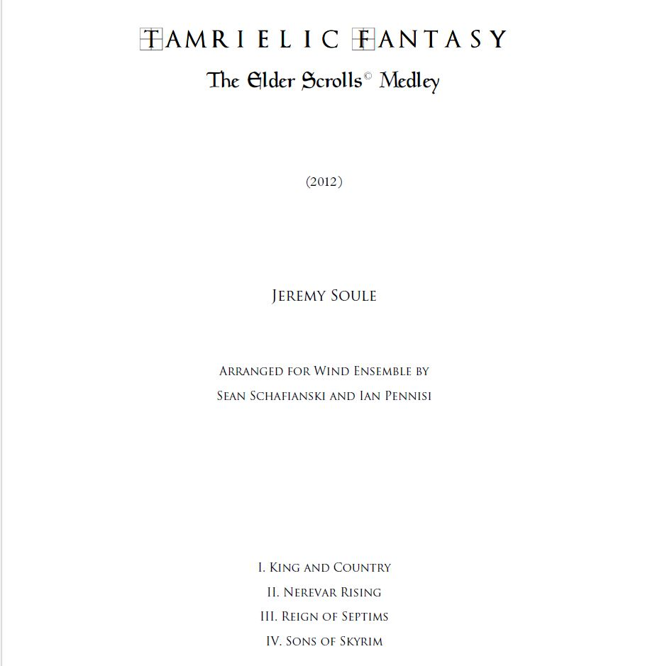 Tamrielic Fantasy