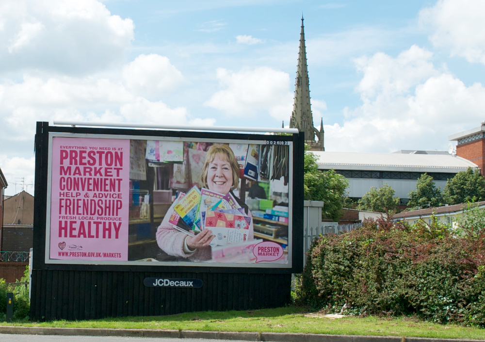 Preston Market Advertising Campaign Billboard2