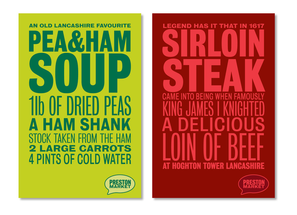 Preston Market Poster designs