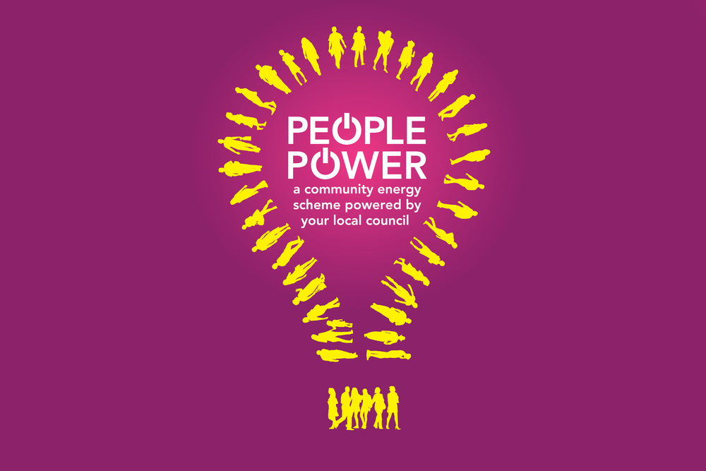 People Power Energy Campaign Branding Logo design