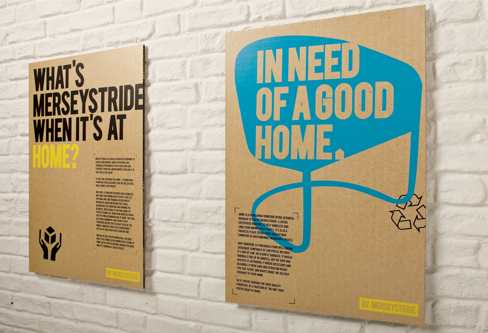 Home by Merseystrideposters deign and marketing