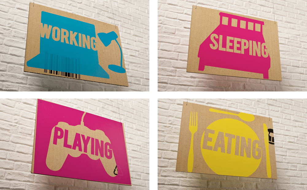 Home by Merseystride in shop signage design