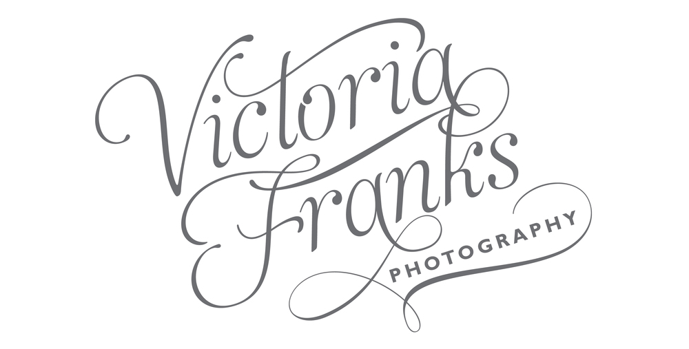 Victoria Franks wedding photography logo