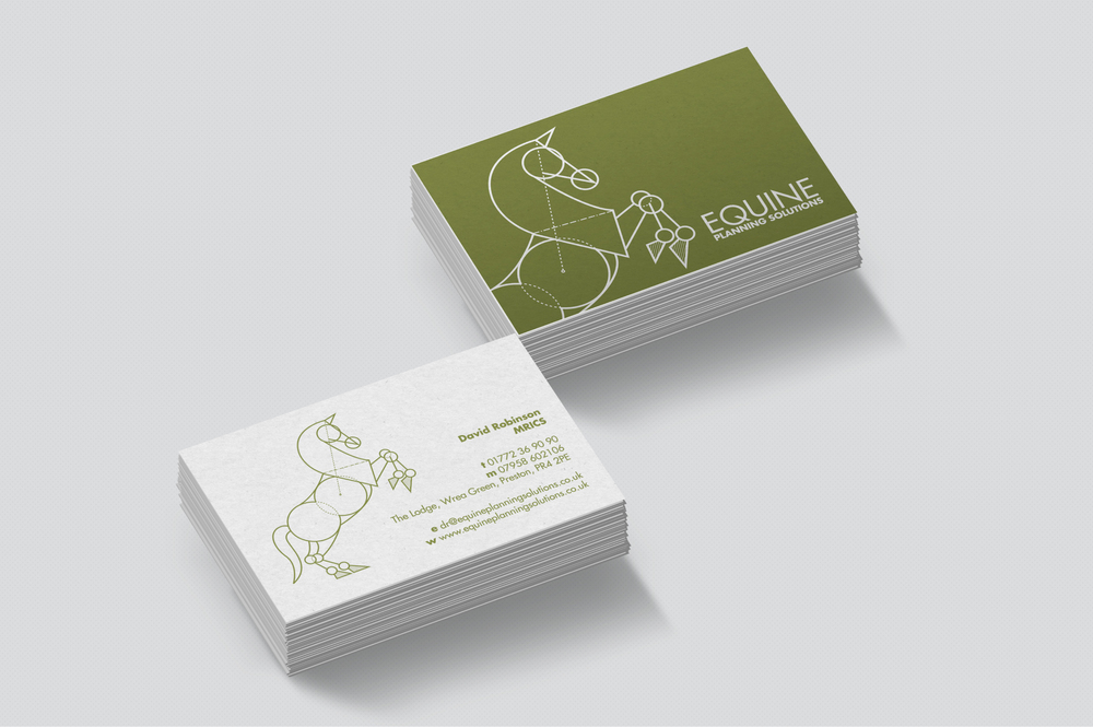 Equine Planning Solutions business cards design