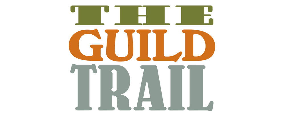 The Guild Trail preston branding logo