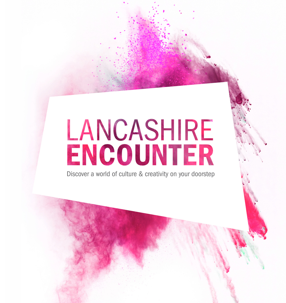 Preston Council Lancashire Encounter Branding logo design
