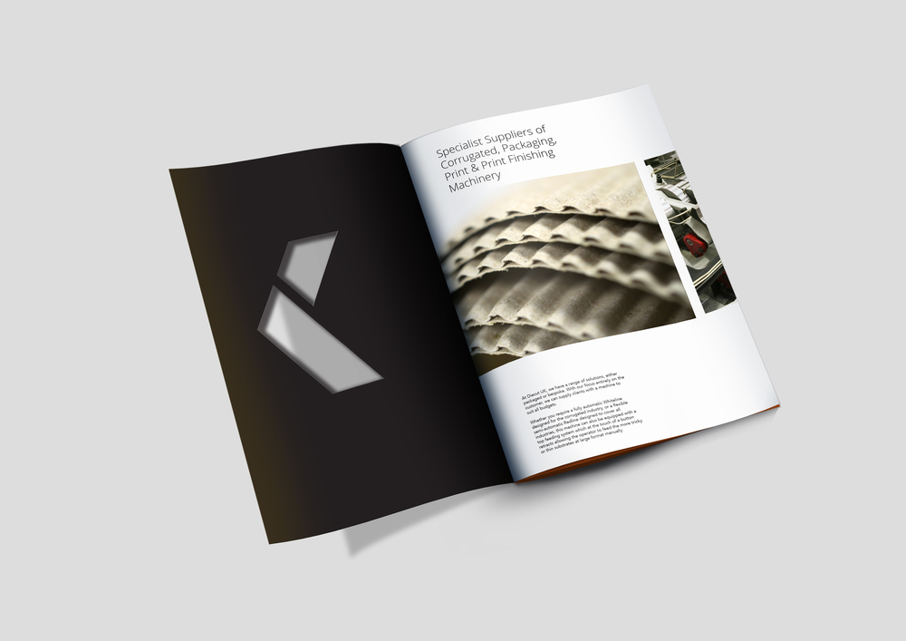 Diecut UK preston branding brochure design