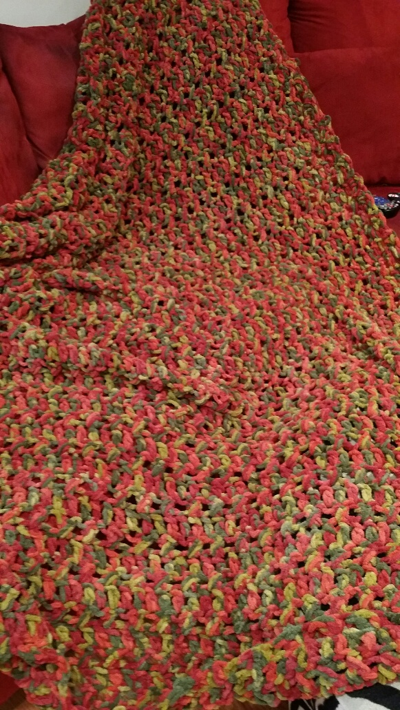 Afghan for my brother.  HE LOVES IT!