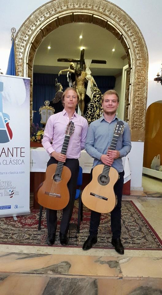 Joint recital with Francisco Luz in Alicante