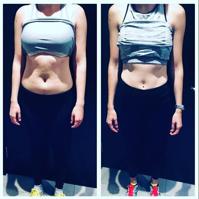 Congrats to our latest #Bodytransformation ⚡️ Client followed a bespoke training & nutrition program; went from 67kg to 52kg and improved posture following a 6 month HPT fat burning training & nutrition program - -Awesomeness ... 🙌🏻 Well done!!