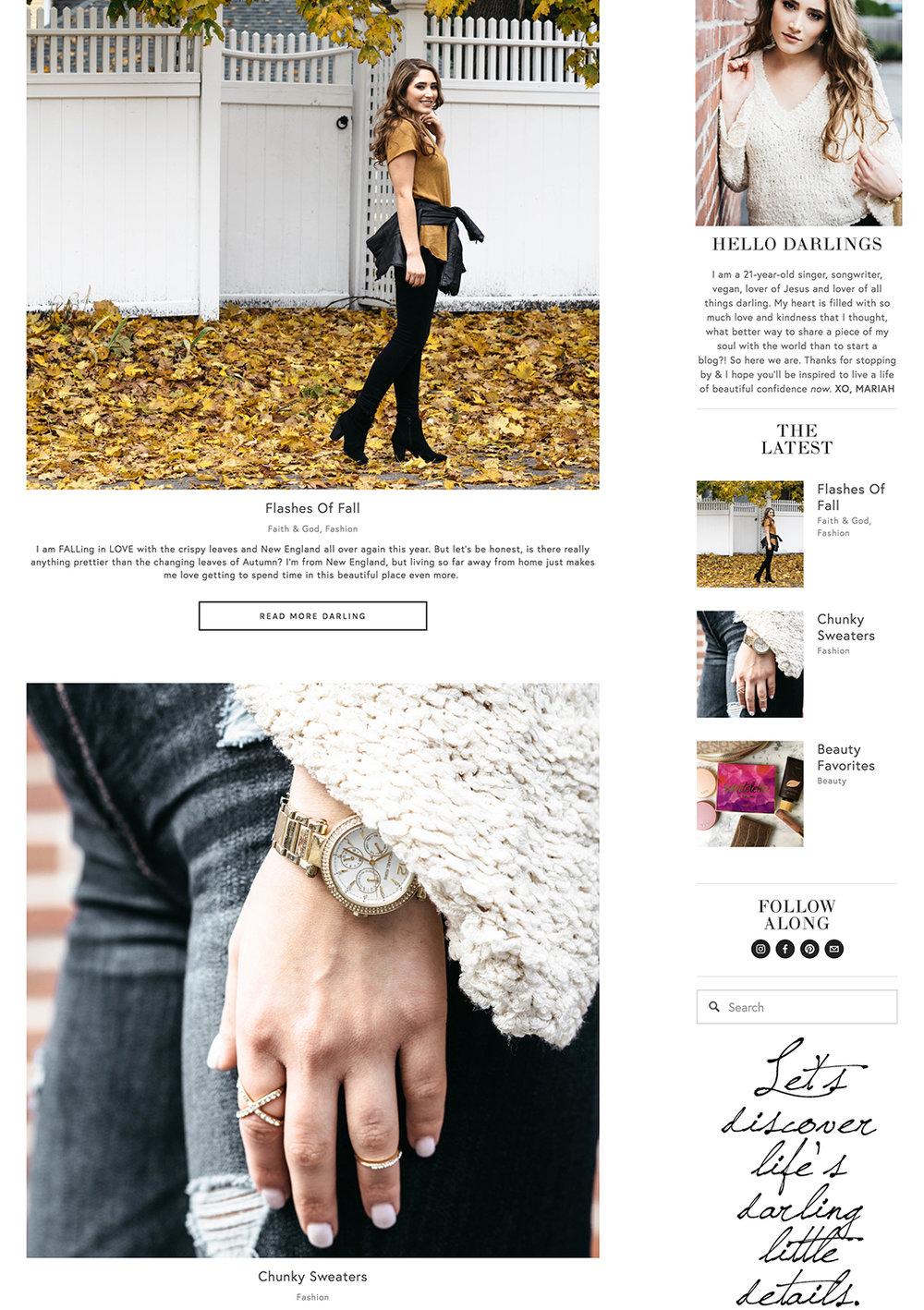 @mariahgracecaruso - BloggerFaith +Lifestyle Blog