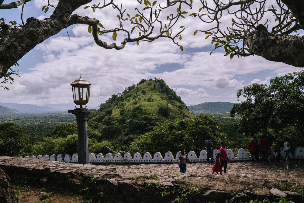 Panorama a Dambulla