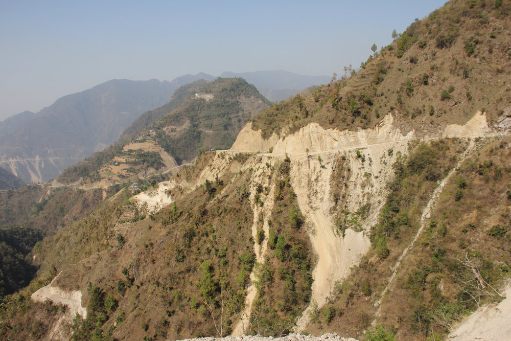 The road from KTM - Ghimdi
