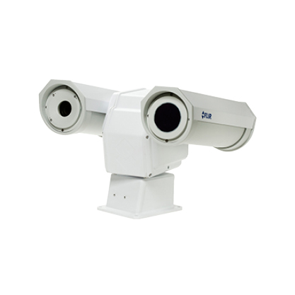FLIR A310pt   The FLIR A310pt Pan & Tilt has all the necessary features and functions to build distributed single- or multi-camera solutions to cover large areas to monitor, such as in coal pile monitoring and sub-station monitoring using standard Ethernet hardware and software protocols.